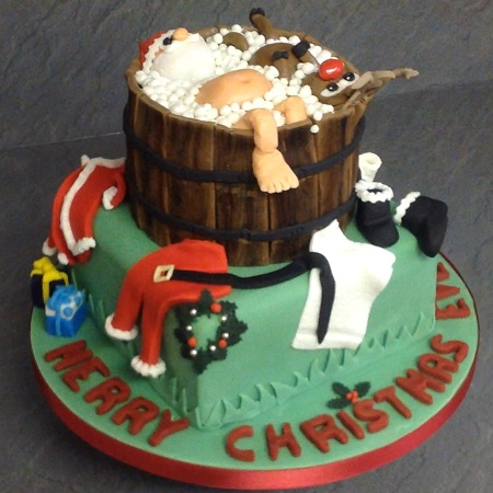 Christmas Cakes And Cupcakes Beautiful And Unique Hand