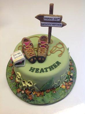 Birthday Cake Walking Boots