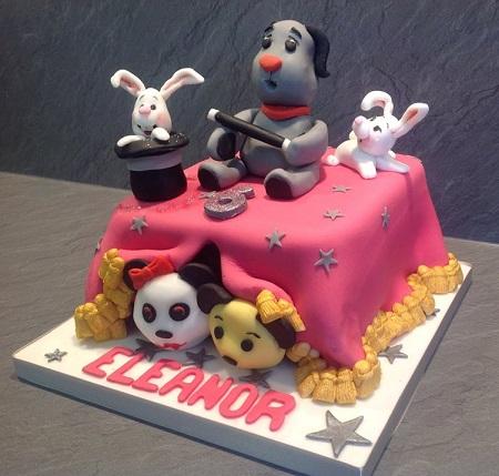 Sooty And Sweep Birthday Cake